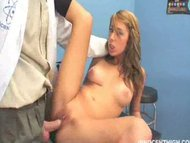Allyssa Hall offer her teen pu