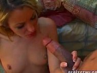 Dark Meat Gets A White Treat, Crystal's Threesome