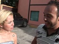 blonde latina gets her pu...