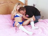Nubile Tessa Taylor Hardcore Cheerleader