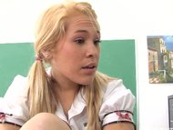 blonde teen Kinberly Kiss...
