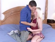 Blonde Spinner Fucked