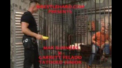 Prison wrestling orgy