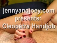 Hot Cumplay Handjob