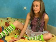 Blonde Nubile Gets Her Bo...