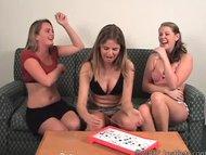 Amateur whores playing Strip O