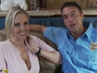 Julia Ann gets interviewed by