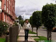 amateur Latina gets her f...