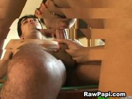 Guy Fucks Gay Latin on Po...