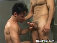 Papi Gay Face Fuck and Ha...