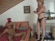 Mother in law finds him m...