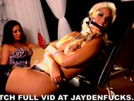 Jayden and Bridgette Tied Up a