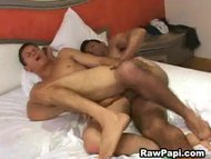Latin hunk asshole gets r...
