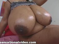 Super Busty Black BBW Dej...