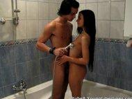 Loves feeling hot water