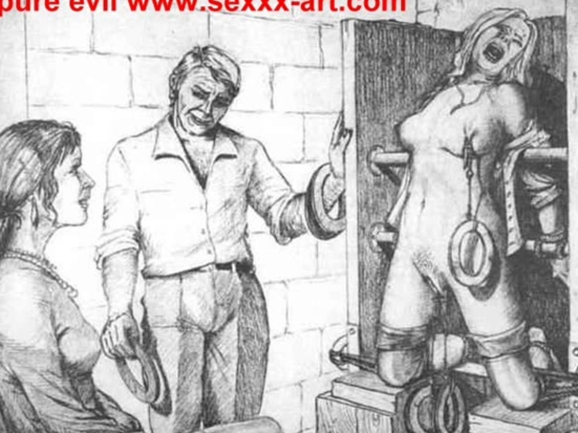 Evil Horror BDSM Artwork