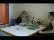 BBW drunk mature and youn...