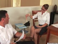Stockings secretary Holly West
