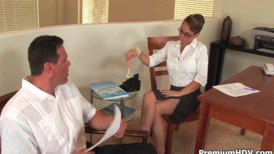 Stockings secretary Holly West