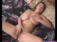 Super huge boobs getting rubbed and dicked