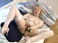 Mature housewife fucks a ...