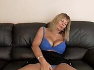 Busty Mature Fingering He...