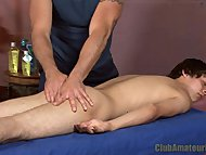 Twink Gets Rimmed and Fin...