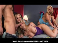 BIGTIT BIGASS BLONDE HOT PORNSTARS GANGBANG WITH HUGE COCK.