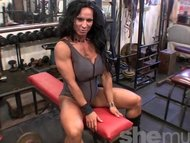 Rhonda Lee Quaresma in the Gym