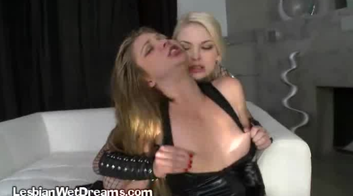 Lipstick Lesbian BDSM Party