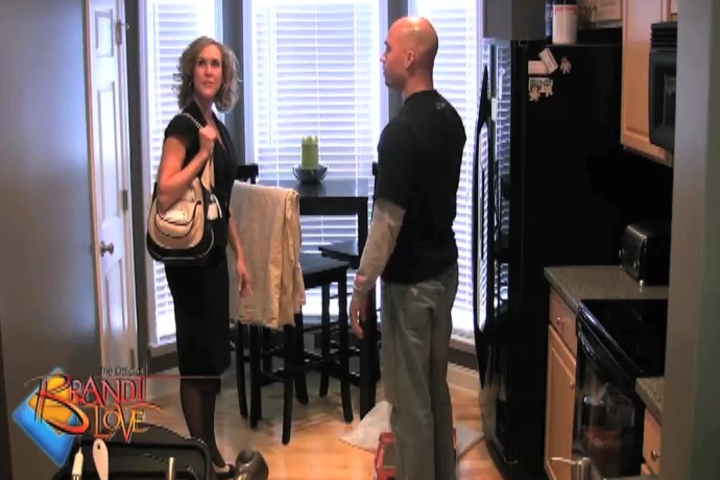 Brandi Love Fucks the Painter To Get Out of Paying Him