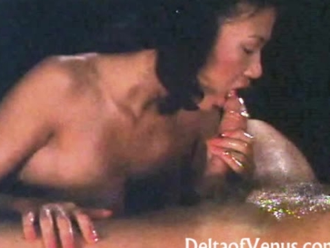 Vintage Erotica 1970s Hot Oil Fuck With Asian Girl