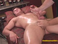 Billy Rubbed and Tugged