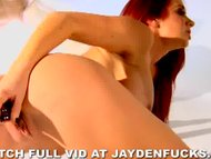 Jayden Jaymes Sexy Solo In War