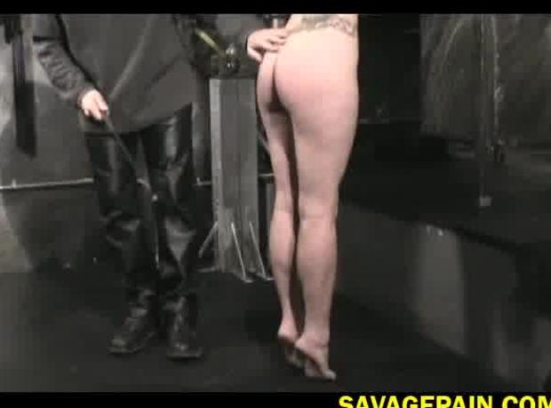 Hanging bondage bdsm for Lauren