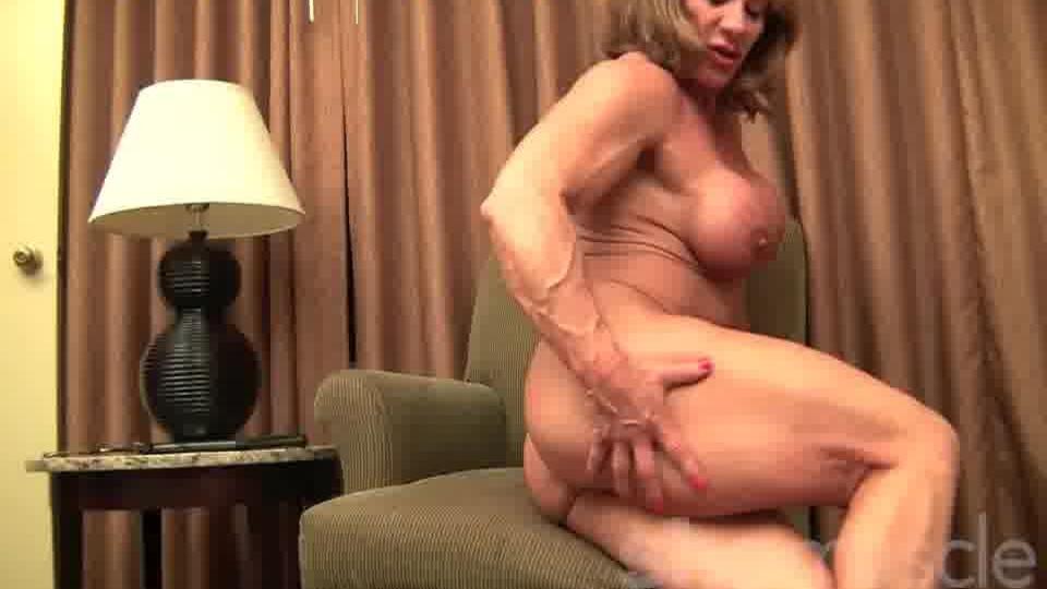 Blonde fisting ass