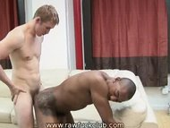 Interracial Bareback Fuck...
