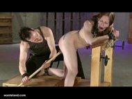 Leila Rides The Bondage B...