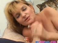 Big tits milf cheats on h...