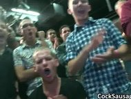 Horny and drunk gay guys having a party part3