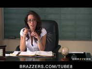Sexy busty school teacher...