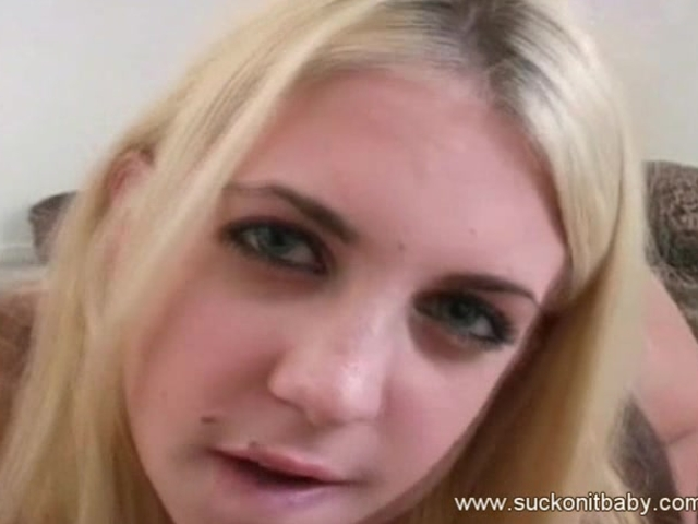 Young blonde Britney Madison is an expert cock sucker