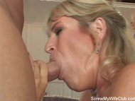 Swinger Wife Gets Screwed...