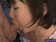 Good looking Asian juvenile stuffing her snatch part4