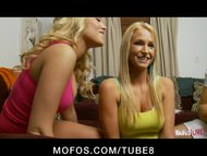 MOFOS LIVE SHOWS  PORNSTARS Emily Addison and Ainsley Addison