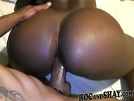 BIG ASS BLACK MAMA RIDES ...