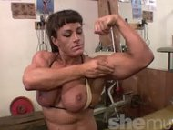 Big Muscles Big Tits