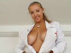 Big tits plump nurse D... - Tube8
