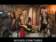 WICKED LIVE SHOW 1 Jessica Drake, Kaylani Lei Alektra Blue view on tube8.com tube online.