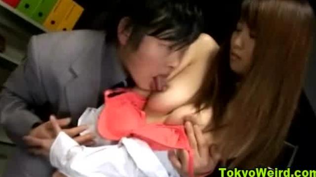 Asian japanese girl groped